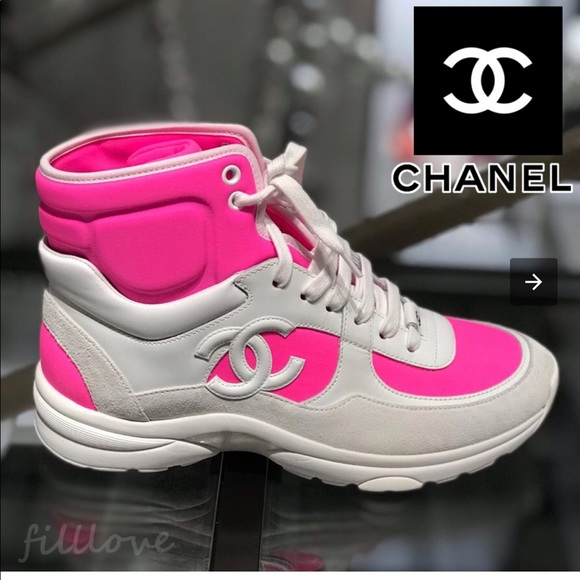 CHANEL Shoes | Chanel Trainers High Top